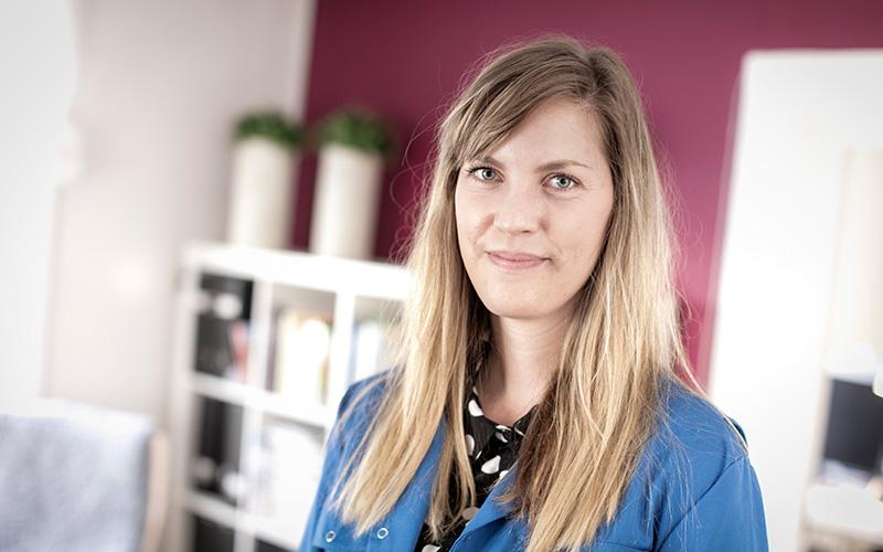 Annja Wikberg – Föräldraledig